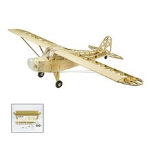 EP J3 CUB Balsa Wood Training Plane 1.2M Wingspan Biplane RC