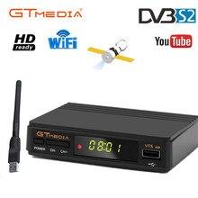 ホット販売freesat V7s衛星テレビ受信機gtmedia V7S hd 1080 usb wifiとスペインヨーロッパDVB S2フルhd土デコーダ