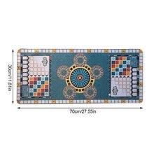 Azuling-Juego de cartas de póker Azul, tapete limpio y seguro, cojín de goma suave para juego de mesa Azul