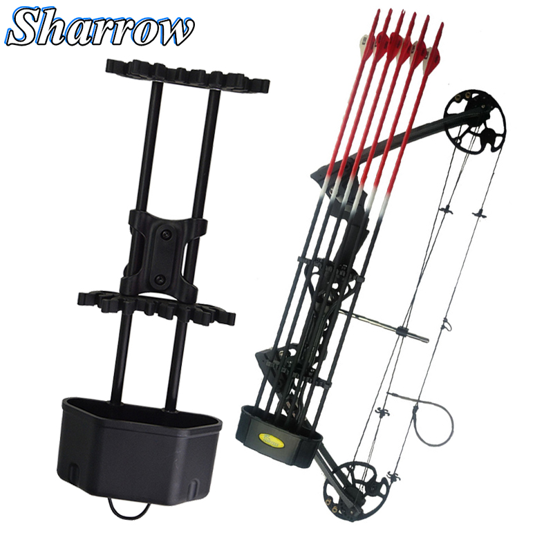 3types Archery Quiver Deadlock Lite Arrow Tube Rest No Arrows For Compound Bow Hunting Shooting Slingshot Convenient Accessories