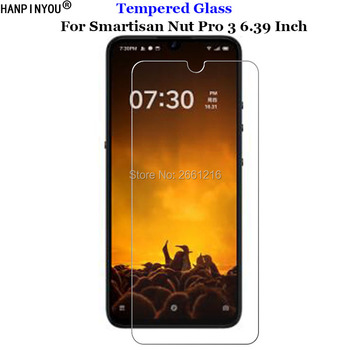 Перейти на Алиэкспресс и купить Для Smartisan Nut Pro3 закаленное стекло 9H 2.5D Премиум Защитная пленка для экрана телефона для Smartisan Nut Pro 3 6,39дюйм