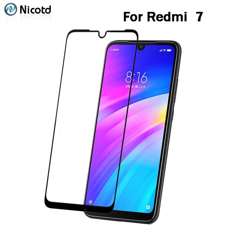 Закаленное стекло для Xiaomi Redmi 7/7A/6A/4X/4A/5A/5 Plus, защитная пленка для экрана Redmi Note 7/6A/GO/5A/5 Pro, пленка с полным покрытием, 2 шт.