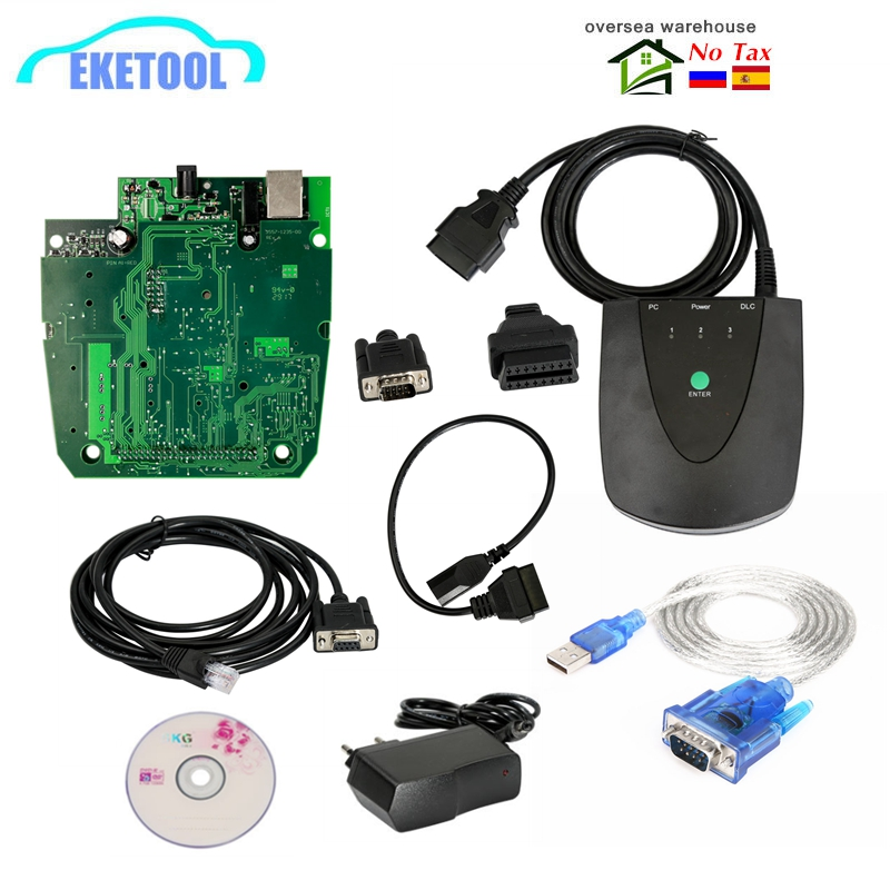 For Honda Module HDS HIM V3.102.051 Double PCB No Need Activation For Honda Diagnostic System Code Reader USB To RS232 Adapter
