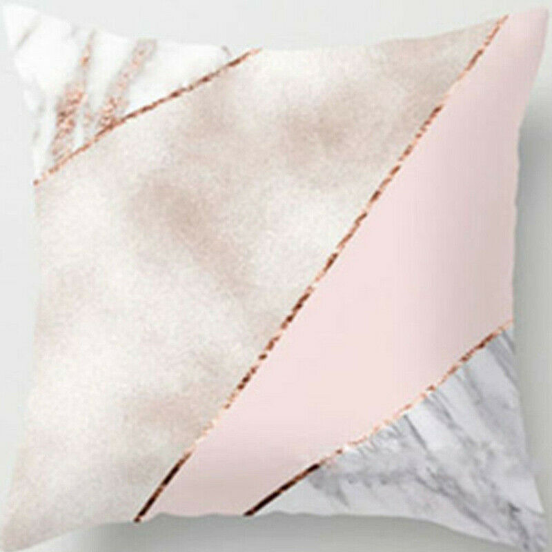 Hot Bohemian & Moroccan Geometric Cotton Linen Pillow Case Square Cushion Cover Gold Shining Printed Polyester Throw Pillow Case