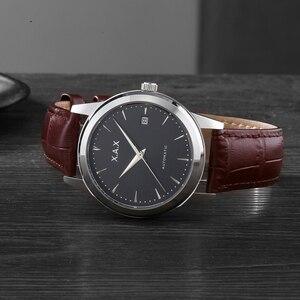 Image 5 - Hommes montres automatique 3 ans de garantie horloges mouvement automatique femmes montre bracelet mécanique