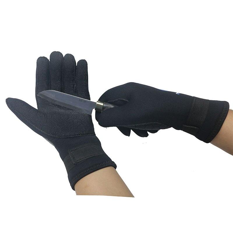 5mm Neoprene Diving Gloves Men Wetsuit Gloves Snorkeling Canoeing Gloves Women Spearfishing Underwater Hunting Gloves