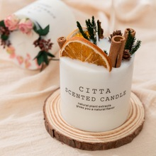Bedroom Sleep Candle Cylindrical Aromatherapy Smokeless Candle Romantic Scented candles Fragrance Aroma Air Cleaner  #6