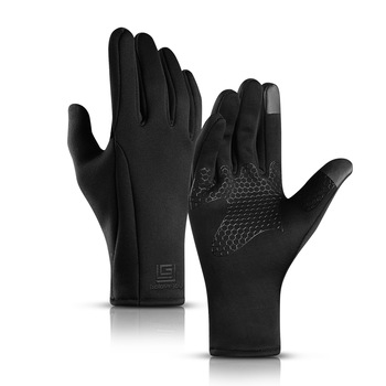 Winter Men Women Thin Skiing Gloves Touch Screen Windproof Rainproof Snowboard Gloves Riding Ski Climb Motorcycle Mittens