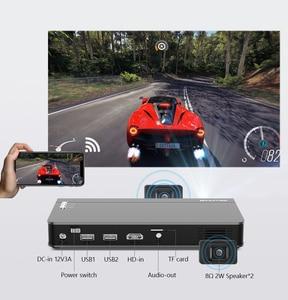 Image 4 - BYINTEK P12 Mini 3D 4K 300Inch Smart Wifi Bỏ Túi Di Động Video Máy Cân Bằng LAsEr 1 LED DLP LAsEr Di Động Máy Chiếu Cho điện Thoại Thông Minh