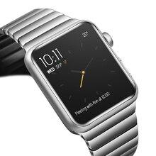 цена на link bracelet for apple watch 4 5 band 44mm 40mm apple watch 3 2 band 42mm 38mm iwatch 5/4/3/2/1 stainless steel watchband GEN.6