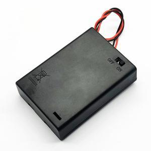Image 2 - 3 AA 4.5V scatola portabatterie scatola batteria con interruttore nuovo 3 batterie AA 4.5V