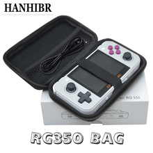 레트로 게임 콘솔에 대 한 anbernic 보호 가방 rg350 가방 버전 게임 플레이어 rg 350 가방 휴대용 레트로 게임 콘솔