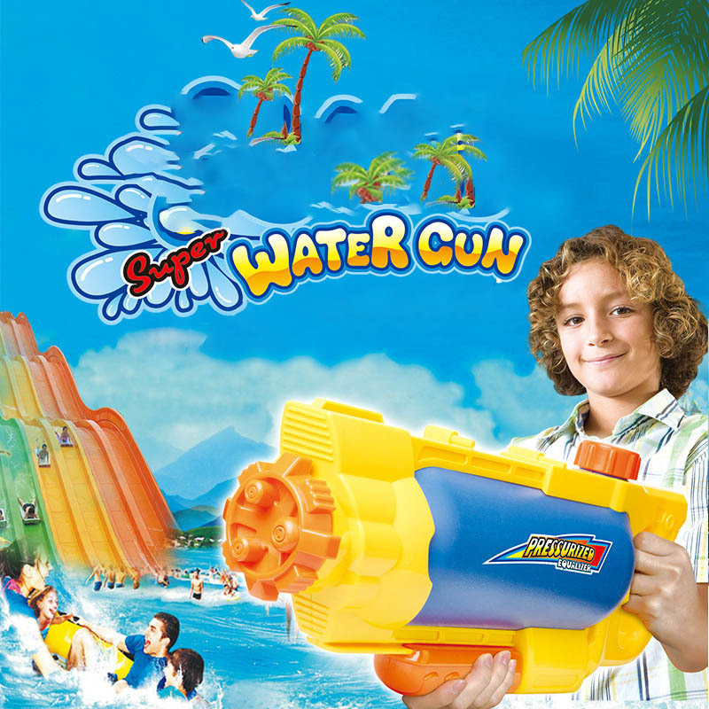 A Juvenile High Pressure Toys Water Gun Water Fight Water Spray Outdoors Parenting Interaction Paddle Toys