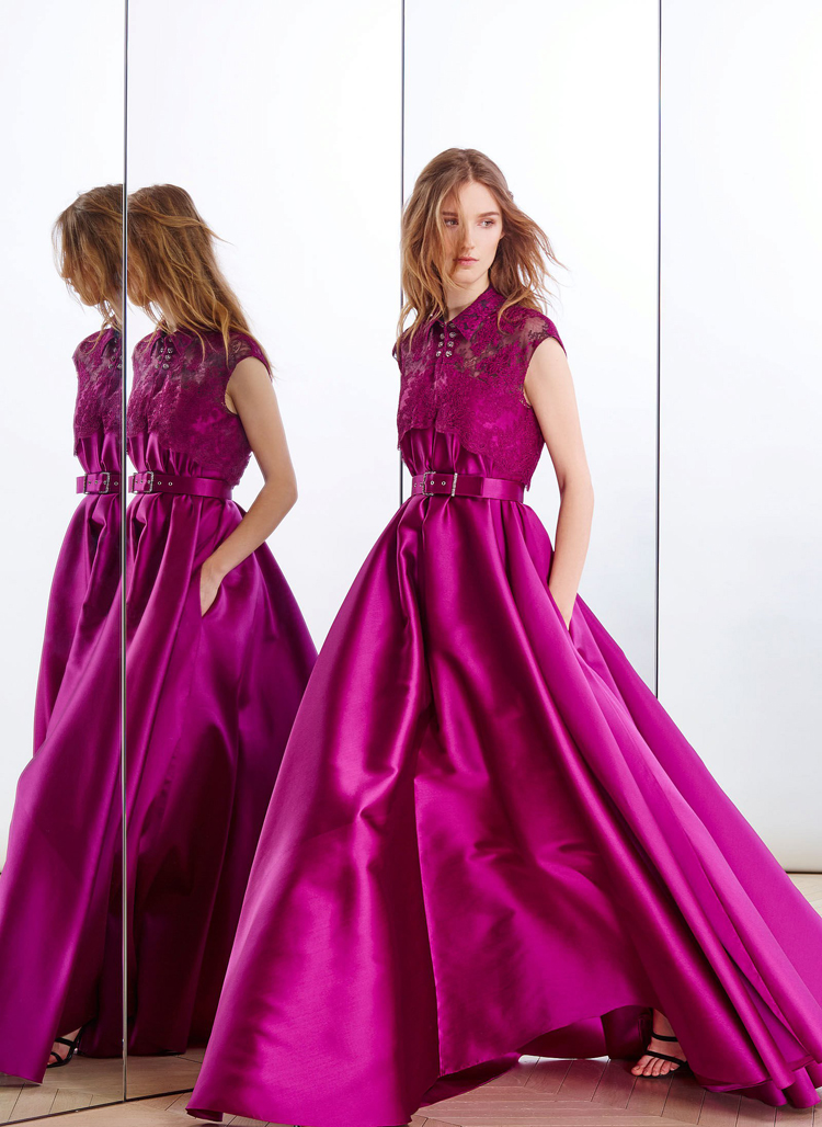 Long Prom Gown Lace Jacket Cap Sleeve Rose Red Satin Evening Vestido De Festal Crystal 2018 Sashes Mother Of The Bride Dresses
