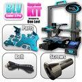 Набор для модернизации 3D-принтера Blurolls BLV Ender 3 Pro, включая винты Gates X/Ybelt ender3, алюминиевые пластины, оригинальная линейная направляющая Hiwin