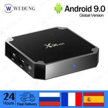 ТВ-приставка X96 mini Smart на Android 9,0, 1 ГБ/2 ГБ 8 ГБ/16 ГБ, четырехъядерный процессор Amlogic S905W, H.265, 4K, 2,4G, Wi-Fi, медиаплеер, ТВ-приставка X96mini
