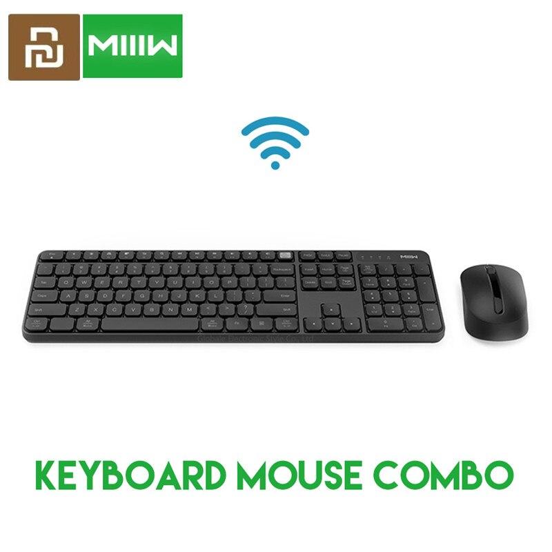 Asli Miiiw Keyboard Nirkabel 104 Key 2 4ghz Wireless Nirkabel Ganda Model Untuk Xiaomi Windows Mac Portabel Keyboard Mouse Set Keyboards Aliexpress