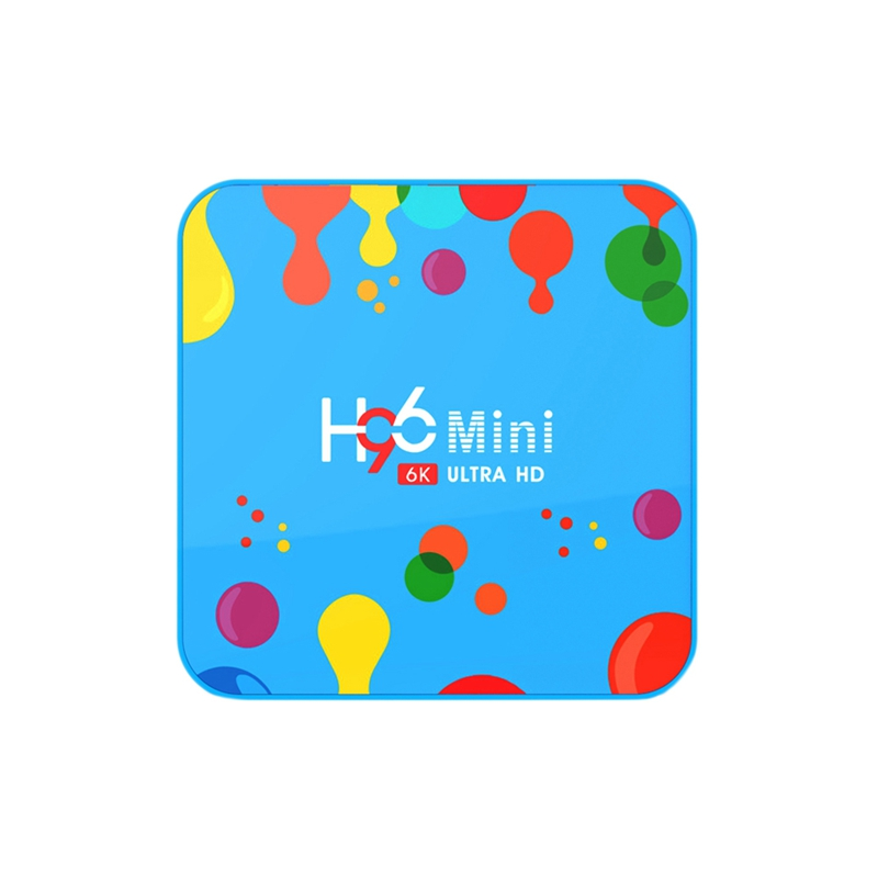 4Gb Ram 128Gb Smart Tv Box H96 Mini Android 9.0 Tv Box Allwinner H6 Quad Core 6K H.265 Usd3.0 double Wifi Iptv Netflix