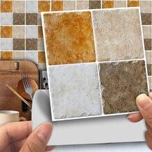 Funlife®Античная мозаичная Наклейка на стену самоклеящаяся легко