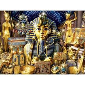 Новый Полный алмаз картина египетский фараон простой спальня гостиная 2020 точечная вышивка крестиком ремесло наборы для взрослых