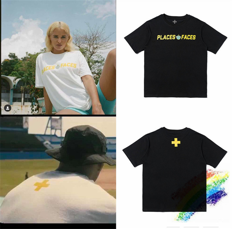 2020ss Places+Faces T Shirts Embroidery Best-quality Men Women Casaul Top Tee Places Plus Faces T-Shirts