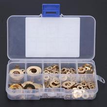 360PCS Brass O Ring Washer Seals Metal Flat Gasket Kit ceramic washers M2 M2.5 M3  M5 M6 M8 M10
