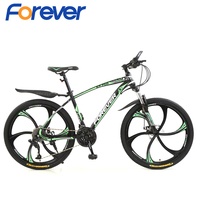 FOREVER YJ-07b 26 Inch Wheel Adult Mountain Bike 30 Speed Road Bicycle Men Racing Ride Carbon Steel Frame Sports Cycling MTB 1