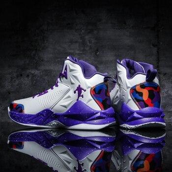 2020 Brand Men Jordan Basketball Shoes Street Style Combat Boots Sneakers Anti-skids Sport Zapatos Hombre