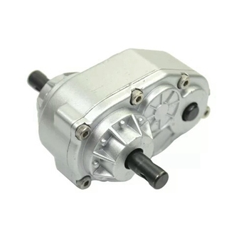 Scx10 1/10 Metal Transfer Case for 1:10 RC Car SCX10 RC4WD-S Gelande II D90 RC Crawler Moving Gearbox RC Vehicle Parts AccessorY