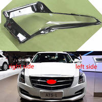For Cadillac ATS 2014 2015 2016 2017 Headlamps Transparent Cover Lamp Shade Front Headlight Cover Lamp Shell Lampshade