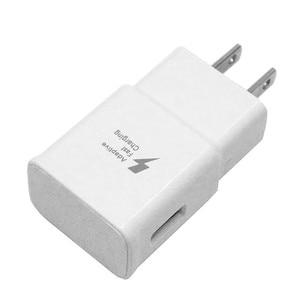 Image 2 - 100 ピース/ロット適応急速充電器 5V 2A USB 壁の充電器電源アダプタ三星銀河注 4 S6 S7 のための iphone 5 6 無料 Dhl