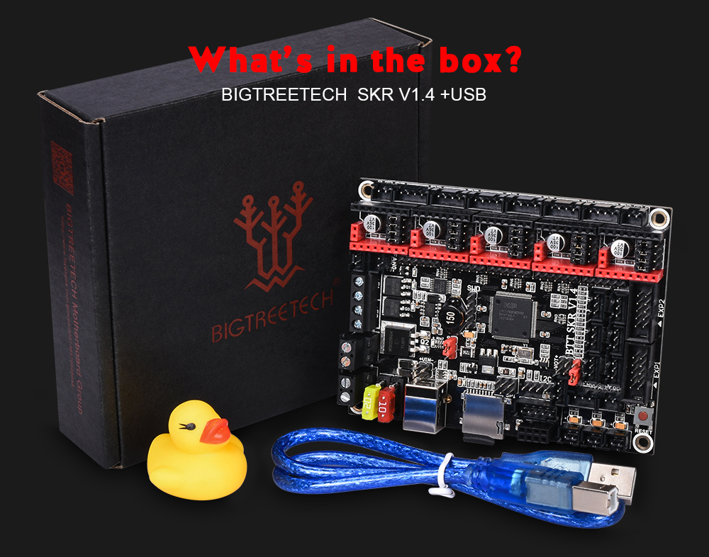 BIGTREETECH SKR BTT Turbo 32Bit Control Board as 3D Printer Parts