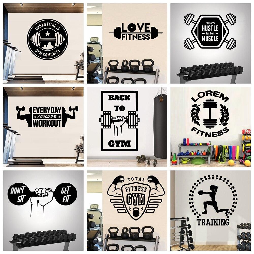 Мотивация, усиленная цитата, Виниловая наклейка на стену, наклейки для фитнеса, декор для комнаты, наклейка на стену, наклейки, фрески