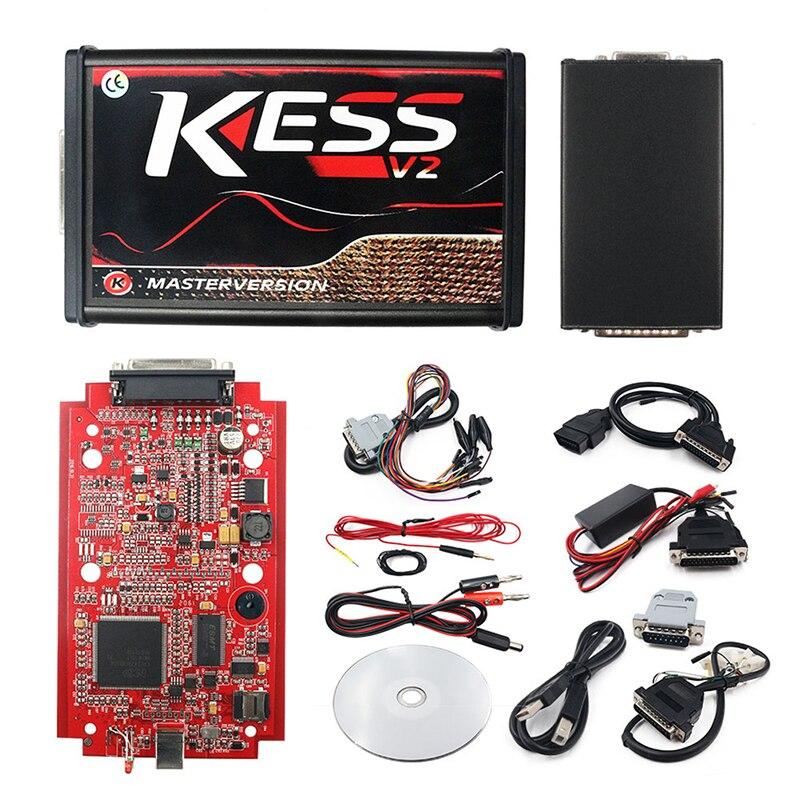 Programador V5.017 KESS V2.53 Kess V2 ECU, versión maestra en línea, nuevo KESS