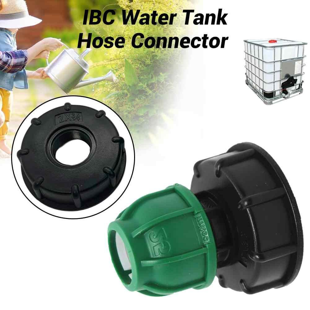 YORKING Conector De Barril De Pl/ÁStico De 100 Mm Accesorios De Tanque De Agua IBC Conector De V/ÁLvula De Barril De Tonelada Accesorios De Junta De Pl/ÁStico Conector Tanque De Agua Tapa De Rosca Gruesa