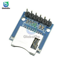 6Pin Male Connector Micro SD Storage Expansion Board Mini Micro SD TF Card Memory Shield Module With Pins for Arduino(China)