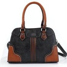 2019 New Ladies Handbags Women Genuine Leather Bags Luxury Vintage Large Capacity Shoulder Bag