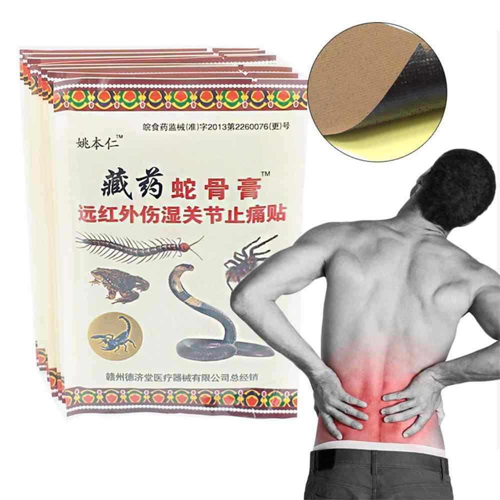 8Pcs Body Massager Zalf voor Gewrichten Relief Pijn Patch Medische Anti-stress
