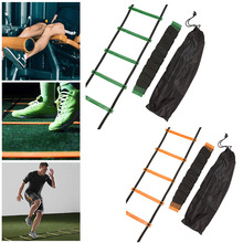 Trans-grade nylon tape training ladder agility stair orange green exercise fitness step equipment