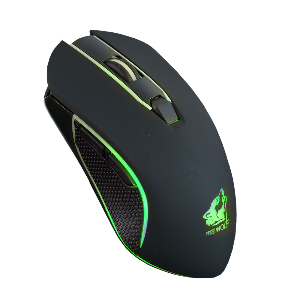 Rechargeable X9 Wireless Gaming Mouse 2400DPI Silent LED Backlit USB Optical Ergonomic Mute Mice Pro Gamer Wireless Mouse