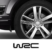 WRC Car Wheel Rim Stickers For Audi BMW Alfa Romeo Mercedes Benz Ford Focus Dacia Volkswagen Peugeot Toyota Auto DIY Accessories