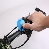 Avvisatore acustico elettronico per bici 130 db avviso sicurezza campanello elettrico sirena di polizia manubrio per bicicletta anello di allarme campana accessori per ciclismo