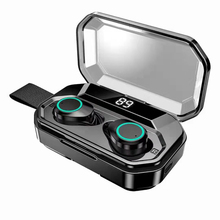 TWS X6 / X6 PRO Jerry Bluetooth 5.0 wireless earphone with battery compartment 3000mAh power display touch IPX7 waterproof