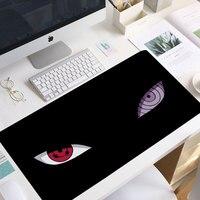 Uchiha-alfombrilla de ratón de 90x40cm para ordenador, alfombrilla de ratón para Gaming, para escritorio y portátil