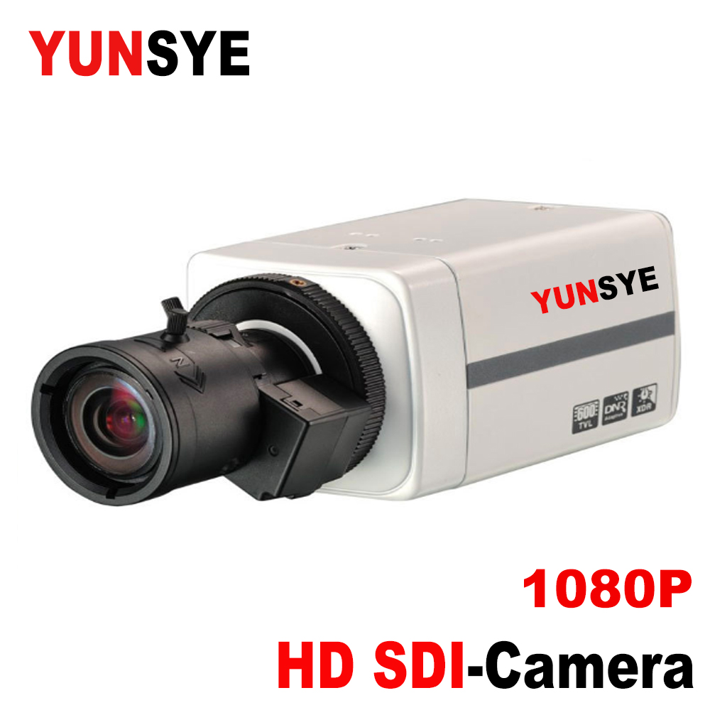 YUNSYE Video surveillance SDI camera manual zoom lens <font><b>2.8</b></font>-<font><b>12mm</b></font> 2MP wide-angle closed-circuit surveillance camera Sony CCD 1080P image