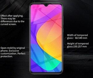 Image 5 - Xiaomi Mi CC9E CC9 9E Mi A3 cam NILLKIN İnanılmaz 9H ekran koruyucu için Xiaomi Mi 9 Lite temperli cam