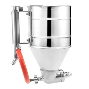 Herramienta de pulverización de tolva de aire de 3500Ml, herramienta de textura de pintura, pulverizador de pintura de yeso con 6 boquillas, pulverizador de estuco de aire, herramienta de tolva de yeso