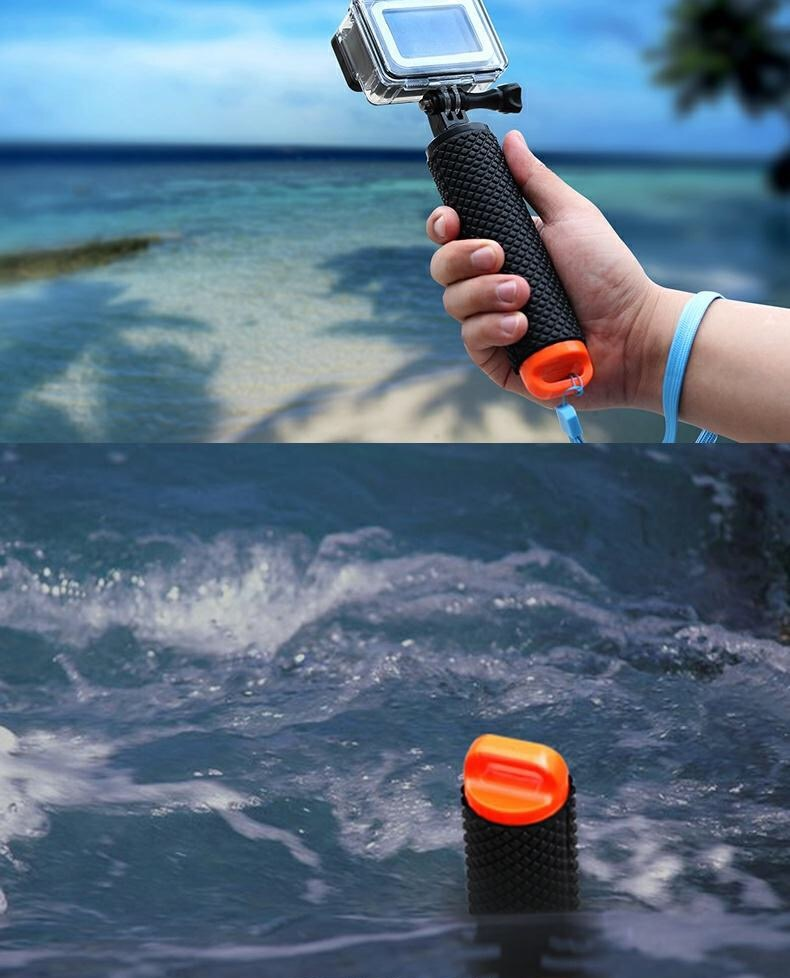 Floating Hand Grip Handle Mount Float accessories for Go Pro Floaty GoPro Hero 9 8 7 6  Yi 4K Eken SJCAM Osmo Action Camera-5