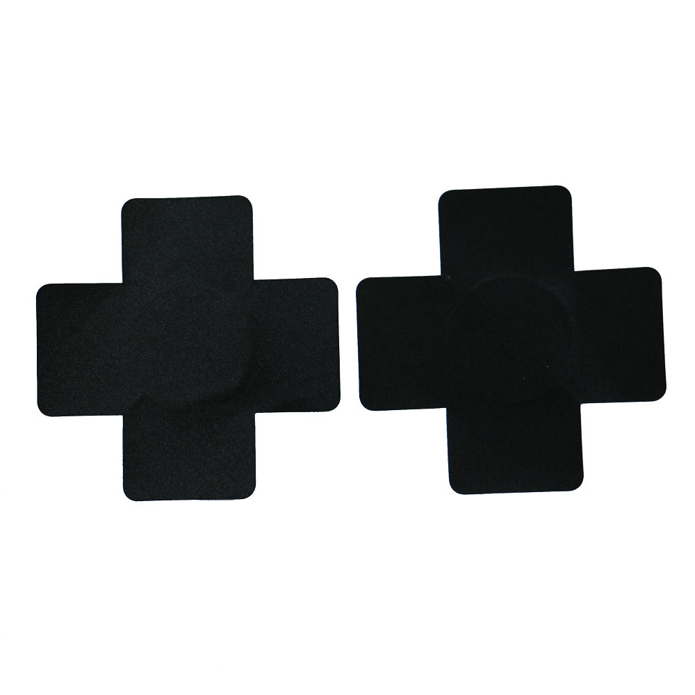 Paste Breast Stickers Experience 1pair (2Pcs) Cross/X Disposable Cool Self-Adhesive Cloth Breast Pasties Pad Nipple Cover Bra