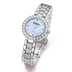 Image 2 - Часы Difini женские кварцевые, деловые водонепроницаемые повседневные модные, с бриллиантами, подарок на день рождения